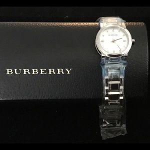 Burberry Ladies Swiss Quartz Diamond  Watch